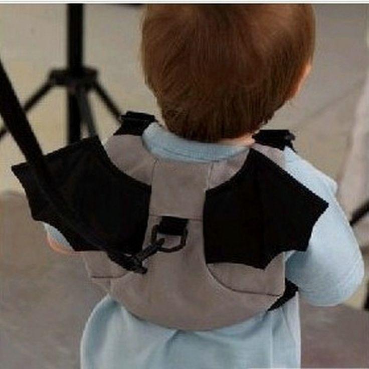 2016 Новый Дети Хранитель Baby Safe Прогулки Малышей Ремни Безопасности Рюкзак мешок Ведущий Ремень Кенгуру Стиле Bat Для Малыш Ребенок Мальчик