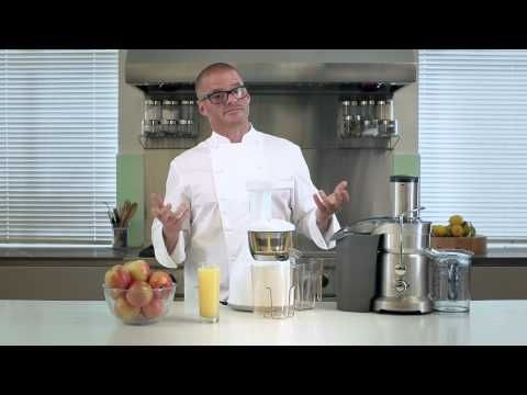 "Sage by Heston Blumenthal - More nutrients from your juice.  ""Keeping juice cool is an important element in preserving nutrients.""  Watch Heston get the most nutrients from everything he juices with The Sage Nutri Juicer. See how we think at http://www.sageappliances.co.uk"