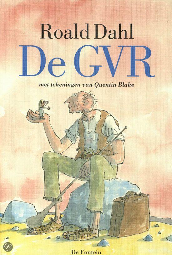 De GVR - Roald Dahl Werd zelfs gebruikt als thema bij het schoolreisje :)ik heb het boek op school