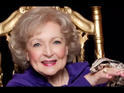 """Betty White Sings OFFICIAL """"I'm Still Hot"""" Music Video w/Luciana HD for ..."""