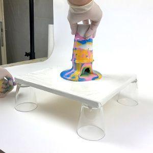 Fluid Painting Anleitung  Pouring Technik Schritt für Schritt erklärt  Claudia…