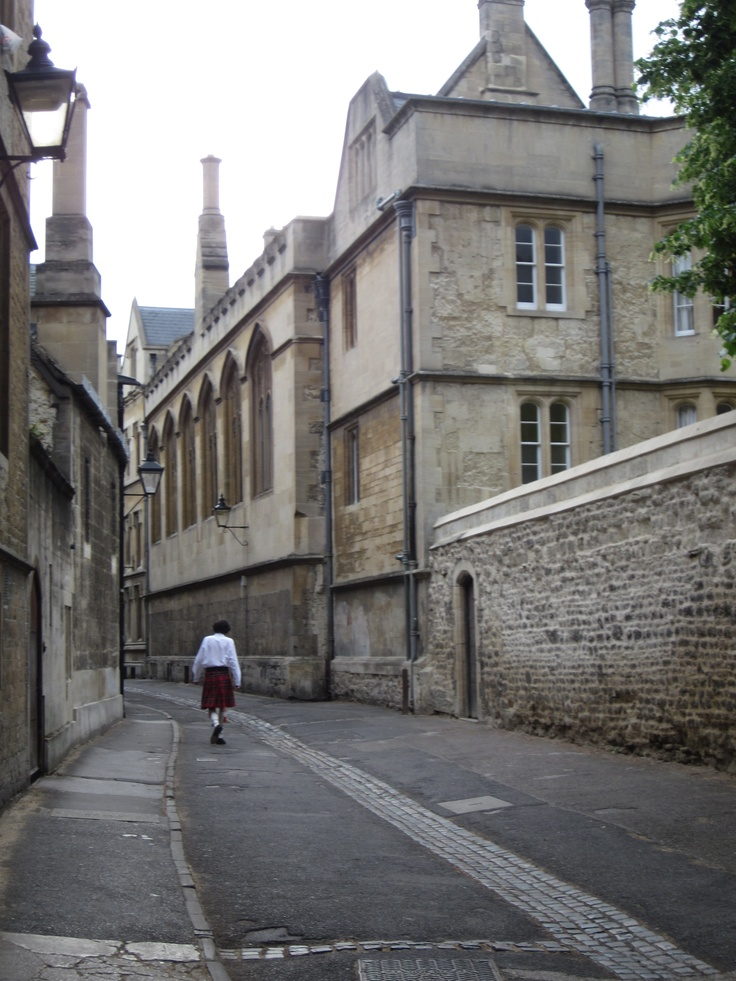 Brasenose Lane, Oxford City Centre