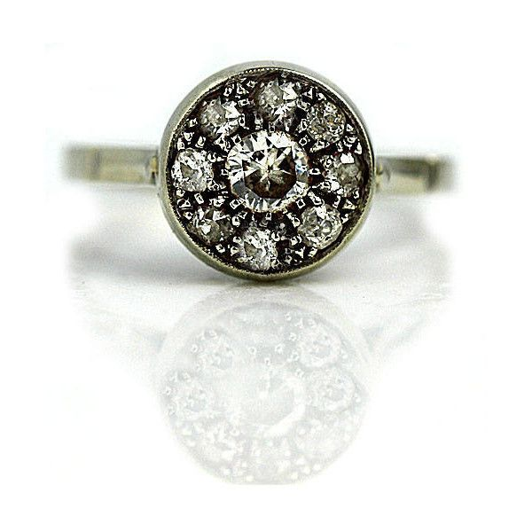 Top 25 best 1950s engagement ring ideas on Pinterest