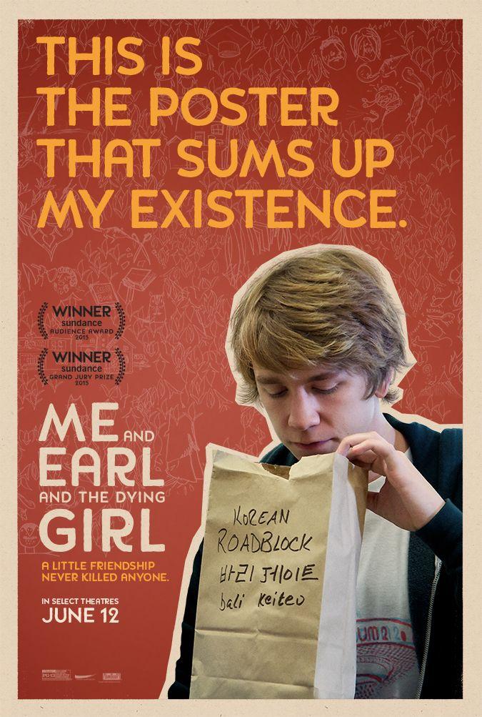 cinema de novo: Novos pôsteres: Me and Earl and the Dying Girl