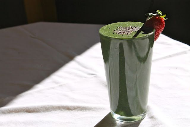 My Killer Green Smoothie Recipe