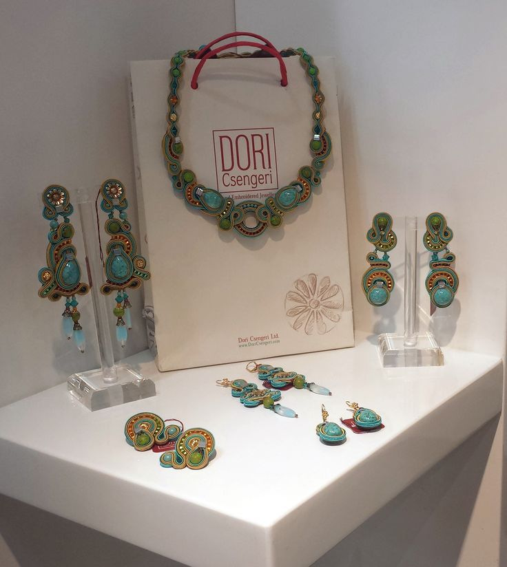 Meet your favorite wear–and-go turquoise jewelry collection. Granada's pieces on display at the NY Now show.  #DoriCsengeri #NYNow #turquoise #wearandgo #goto #fashion #accessories #ss2016 #summer #trends