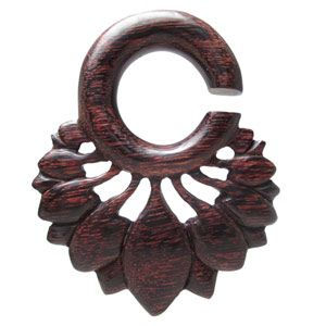 Wooden Plugs, Dark Lotus Hangers WEX36