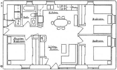 Craftsman House Plan This Craftsman Plan Has All The Amenities Of A Larger Home In A Compact Space 814 Sq Ft Interior 3 Bedroom 1 Bath Fo