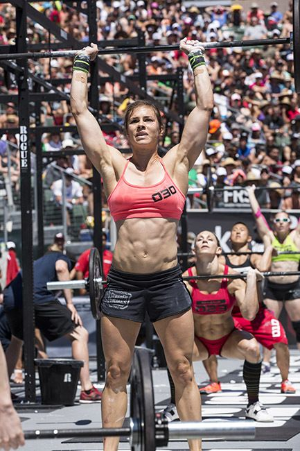 julie foucher. representing fit from way back.