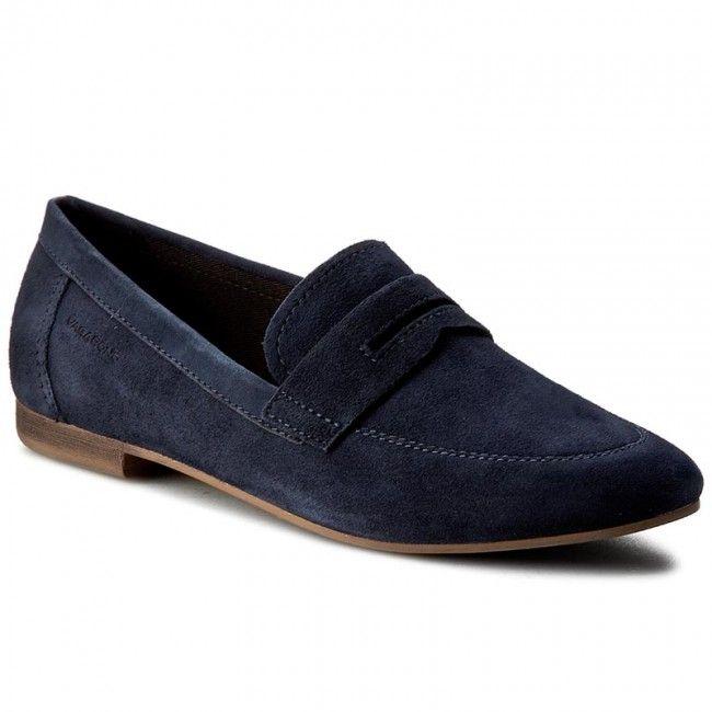 Lordsy Vagabond Clara 4318 140 64 Dk Blue Vagabond Blue Loafers