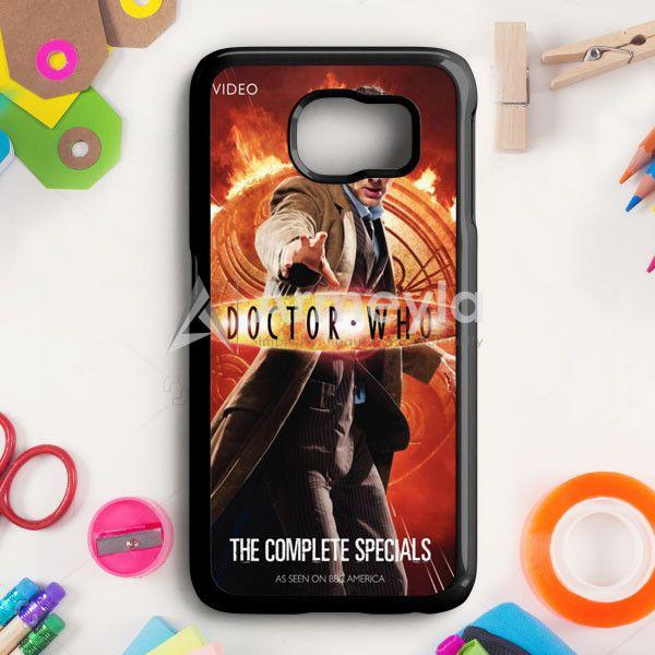 Doctor Who Tardis Divergent Dauntless Samsung Galaxy S6 Edge Case | armeyla.com