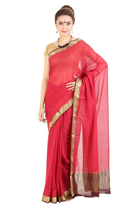 This is beautiful Crepe silk sarees online which can make you look attractive with the self motifs added to the body of your attire to make it a remarkable piece. To wear for any function, especially weddings and different social occasions. To know more go through our silkshari website.