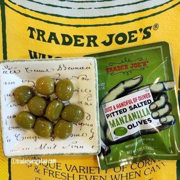 Trader Joe's Just a Handful of Pitted Salted Manzanilla Olives $.99 | #TraderJoes  #Manzanilla #Olives #オリーブ #トレーダージョーズ #トレジョ