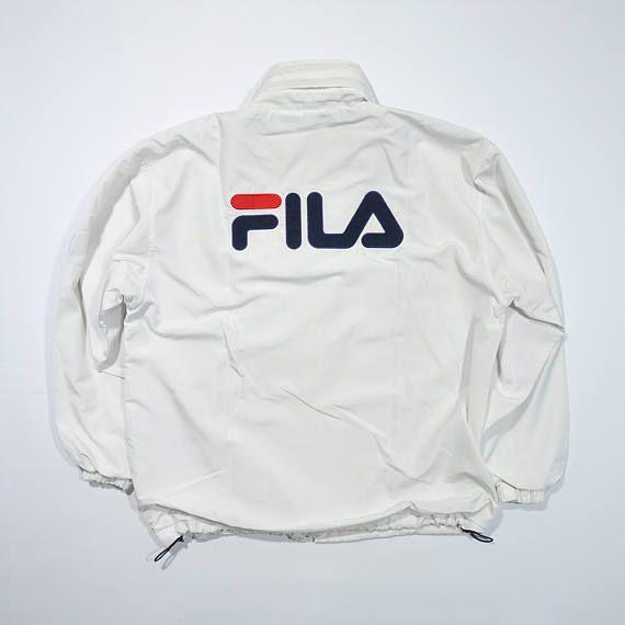 Vintage 90s FILA BIELLA ITALIA Jacket Fila Windbreaker