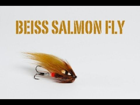 Fly Tying Salmon fly Beiss Variant - YouTube