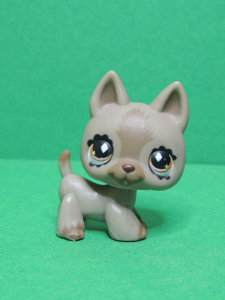 #491 chien Berger Allemand dog German Shepherd LPS Littlest Pet Shop figure