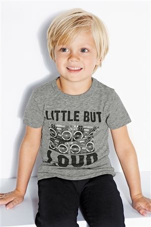 Buy Little But Loud T-Shirt (3mths-6yrs) from the Next UK online shop