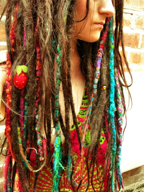 how to make synthetic dreads with yarn