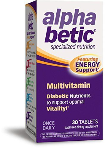 alpha betic Once-Daily Multi-Vitamin Supplement, 30 Tablets //Price: $12.31 & FREE Shipping //     #hashtag4