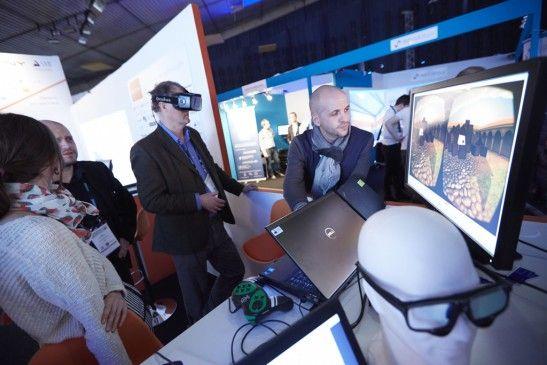 Des applications de réalité virtuelle présentées au salon Laval Virtual pourraient être utilisées sur les chantiers.