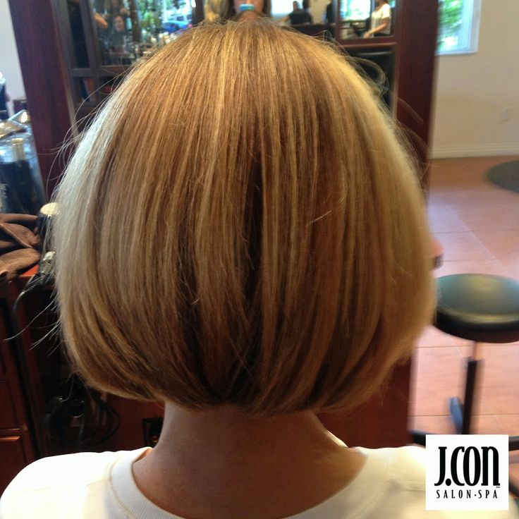The classic bob... always in fashion. Haircut and styling by Debi at J.CON Salon and Spa 727-525-9119 #classic #bob #haircut #hairstyle #shorthair #stackedbob #dtsp #theburg #jconsalon