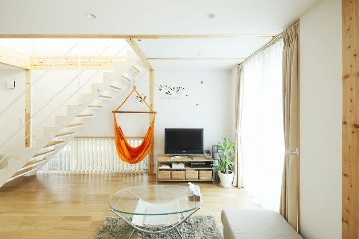 Living Space with Minimalist Furniture and Wooden Flooring Decorations