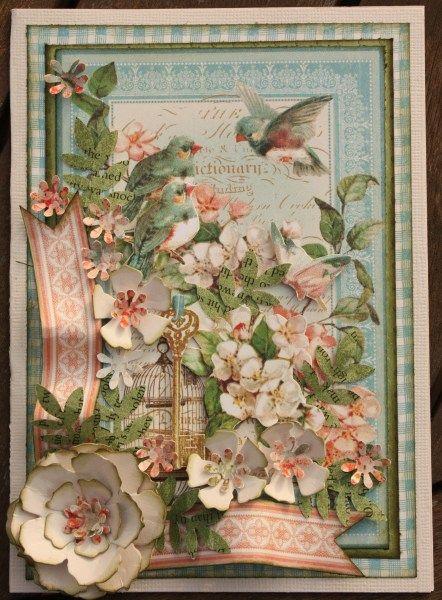 Secret garden card