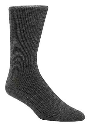 McGregor Wool blend sock for her or him with a non-elastic leg, Made in Canada