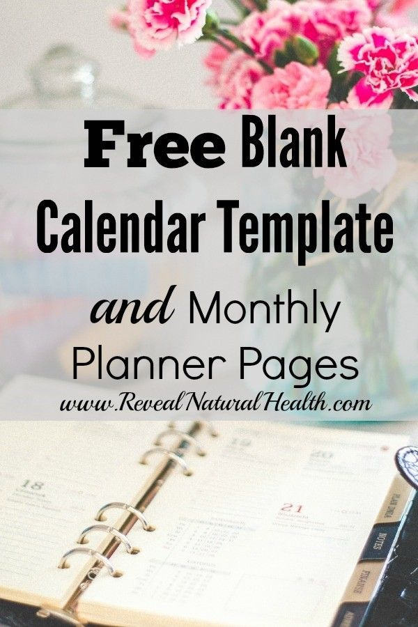 In my quest to find the perfect planner for me, I designed my own single-month, blank calendar template spread across two pages, along with blank planner pages to go with that month.