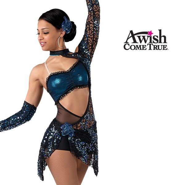 A Wish Come True Dance Costumes I adore the lace... - Swishy ...