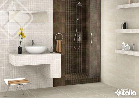 El estilo Industrial sigue siendo uno de los más usados al momento de decorar un baño, es un estilo que no pasa de moda por la neutralidad de su diseño. #BañoIndustrial #CerámicaItalia #ElBañoQueTeMereces