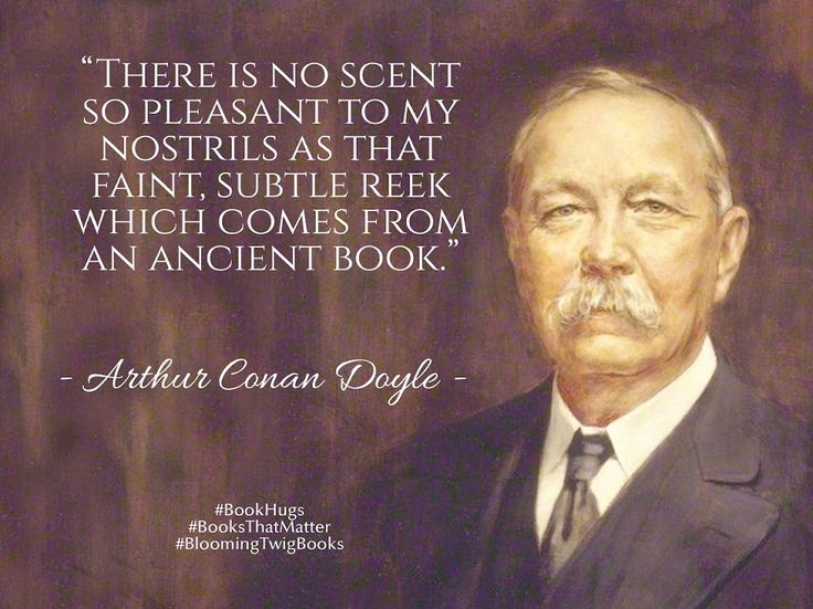 A great Quote by Arthur Conan Doyle