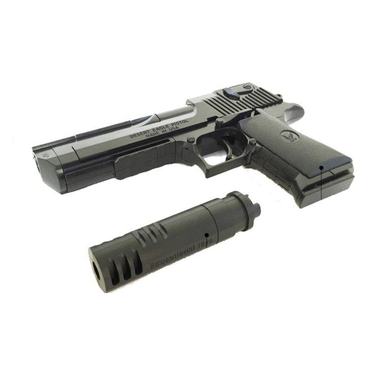 desert eagle Building block ,nerf m1911 rifle toy gun orbeez airsoft pistol air soft desert eagle slugterra ak47 sniper m4a1