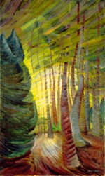 'Sombreness Sunlit' by Emily Carr.  I want a print of this for my house, but can't find one anywhere.