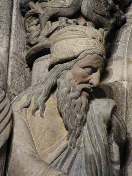 http://artclassic.edu.ru/catalog.asp?ob_no=17609  Скульптура собора в Сантьяго-де-Компостела . 1168—88. Фрагмент