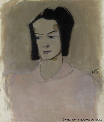 HELENE SCHJERFBECK Finnish Nurse III (Ester Räihä, 1943)