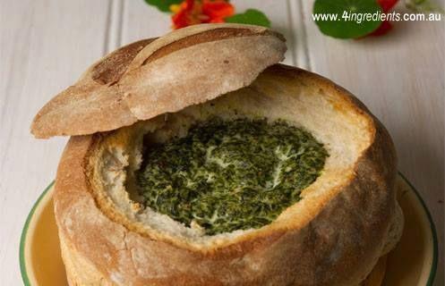 Spinach dip - 4 ingredients