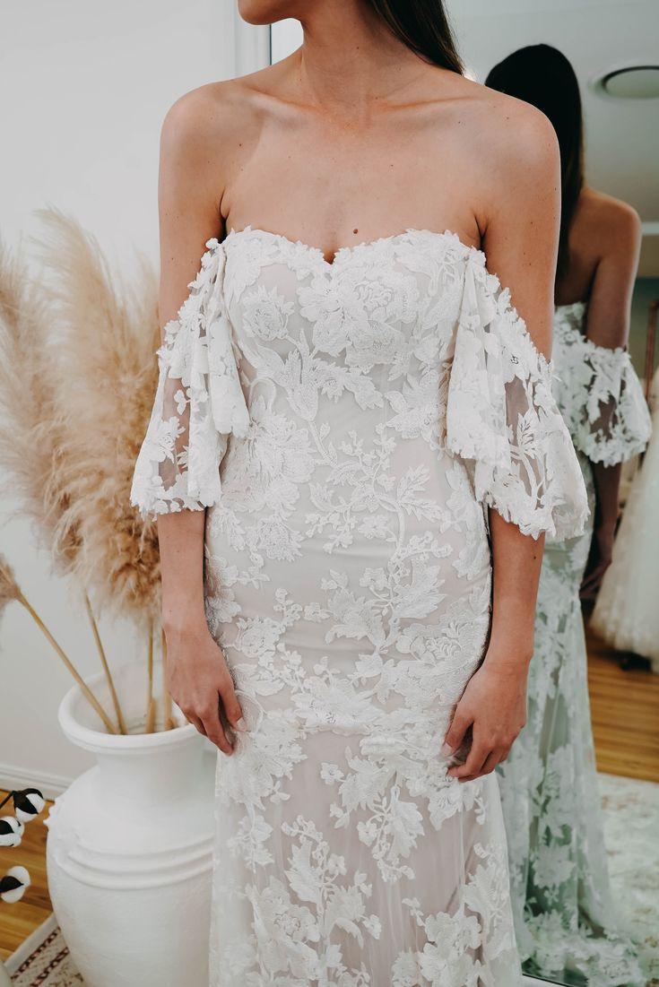 The HALLE gown by Madi Lane Bridal   Wedding dresses, Australian ...