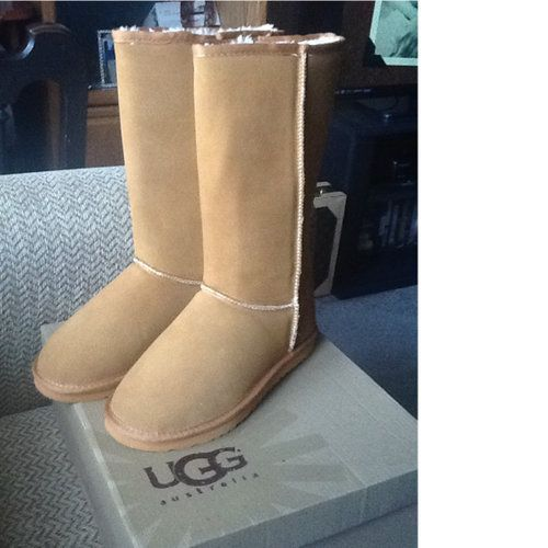 ugg classic tall chestnut size 8