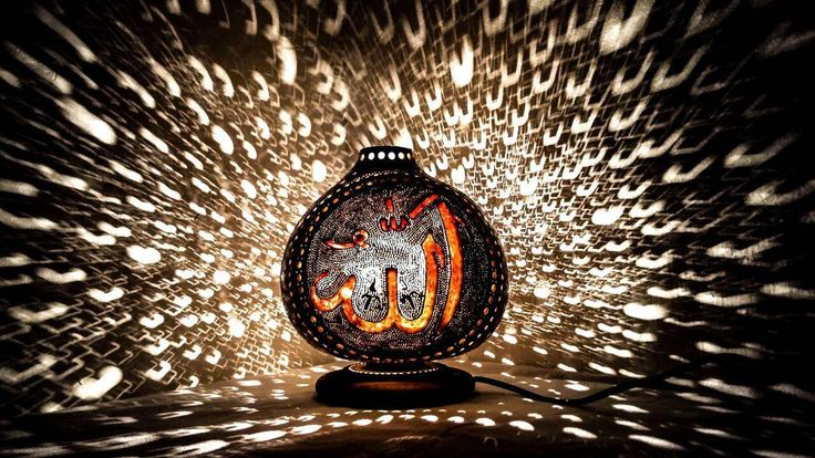 Handgemachte Naturfarbe Ramadan Lichter Kürbislampen ALLAH Gott Gott Dekor osmanischen türkischen islamischen Dekor Kronleuchter EID Geschenk Möbel marokkanisch