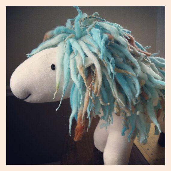 Mama Pixie Ponies  ----- Custom Waldorf Inspired Unicorn or Pony -- Made to Order