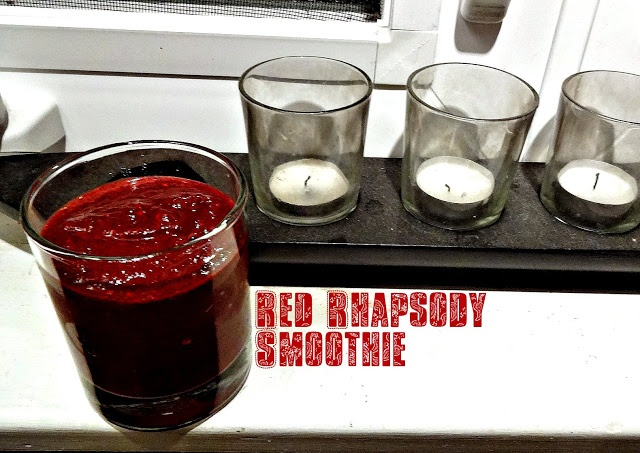 Red Rhapsody green smoothie!