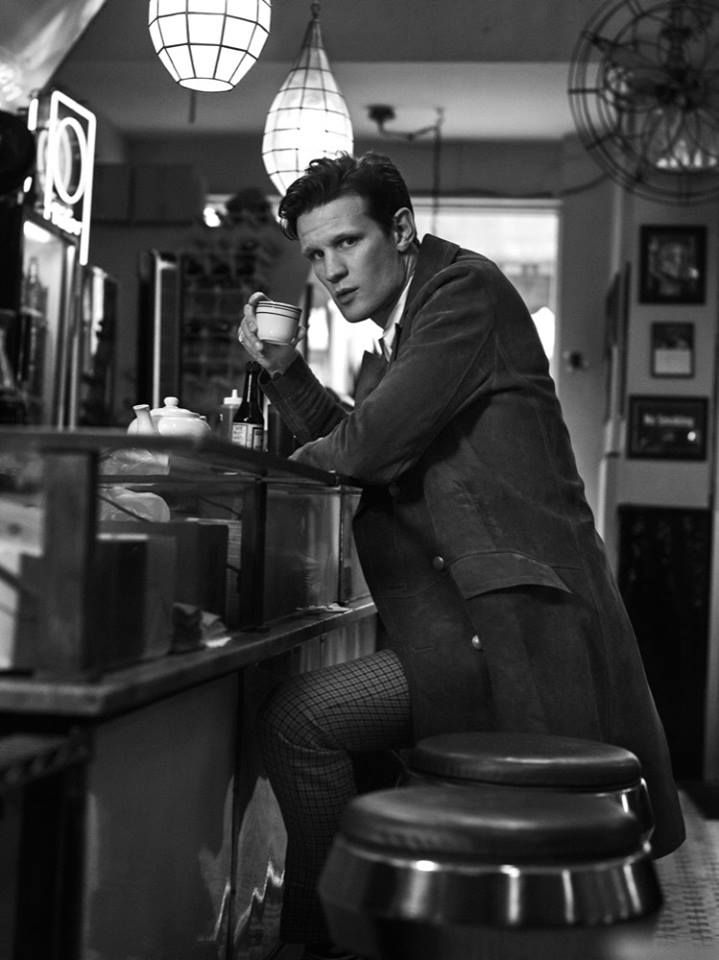 Matt Smith photographed by Matthew Sprout for Interview Magazine