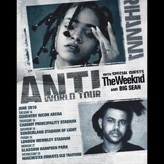 Buy Rihanna tickets, Rihanna tour details, Rihanna reviews | Ticketline