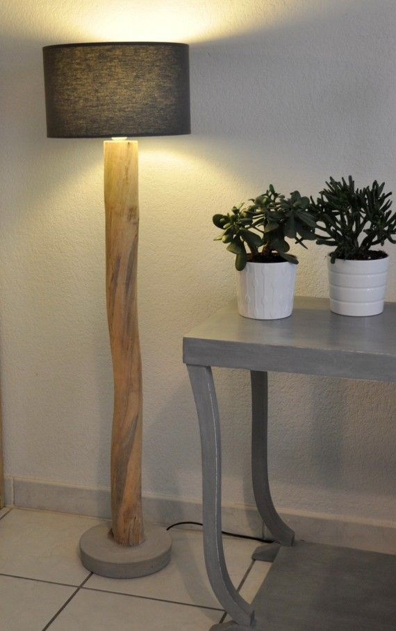 1000+ ideas about Lampadaire En Bois on Pinterest  Floor  ~ Lampadaire Bois