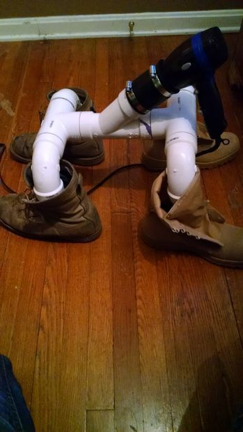 ways to use the boot dryer