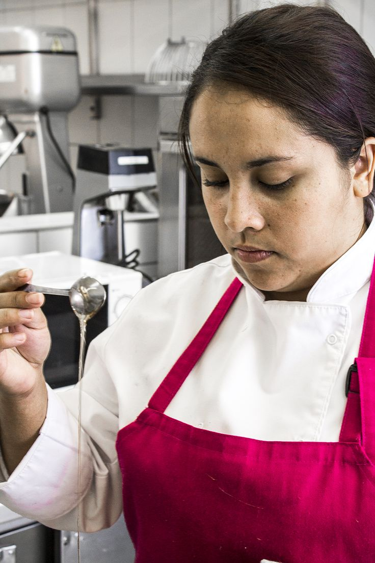 Meet Alicia - a talented young Pastry Chef who has joined us from The Vineyard Hotel.
