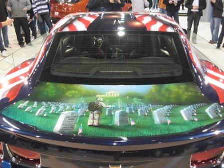 American Pride Camaro commissioned by General Motors
