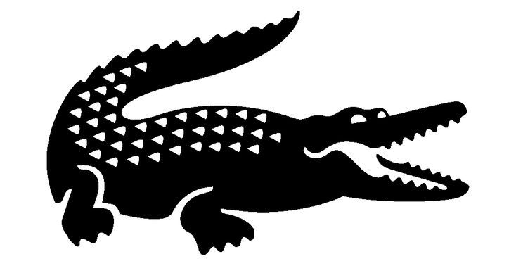 I5n887 Png Lacoste Silhouette Clip Art Logos