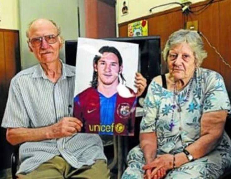 Abuelo de Messi